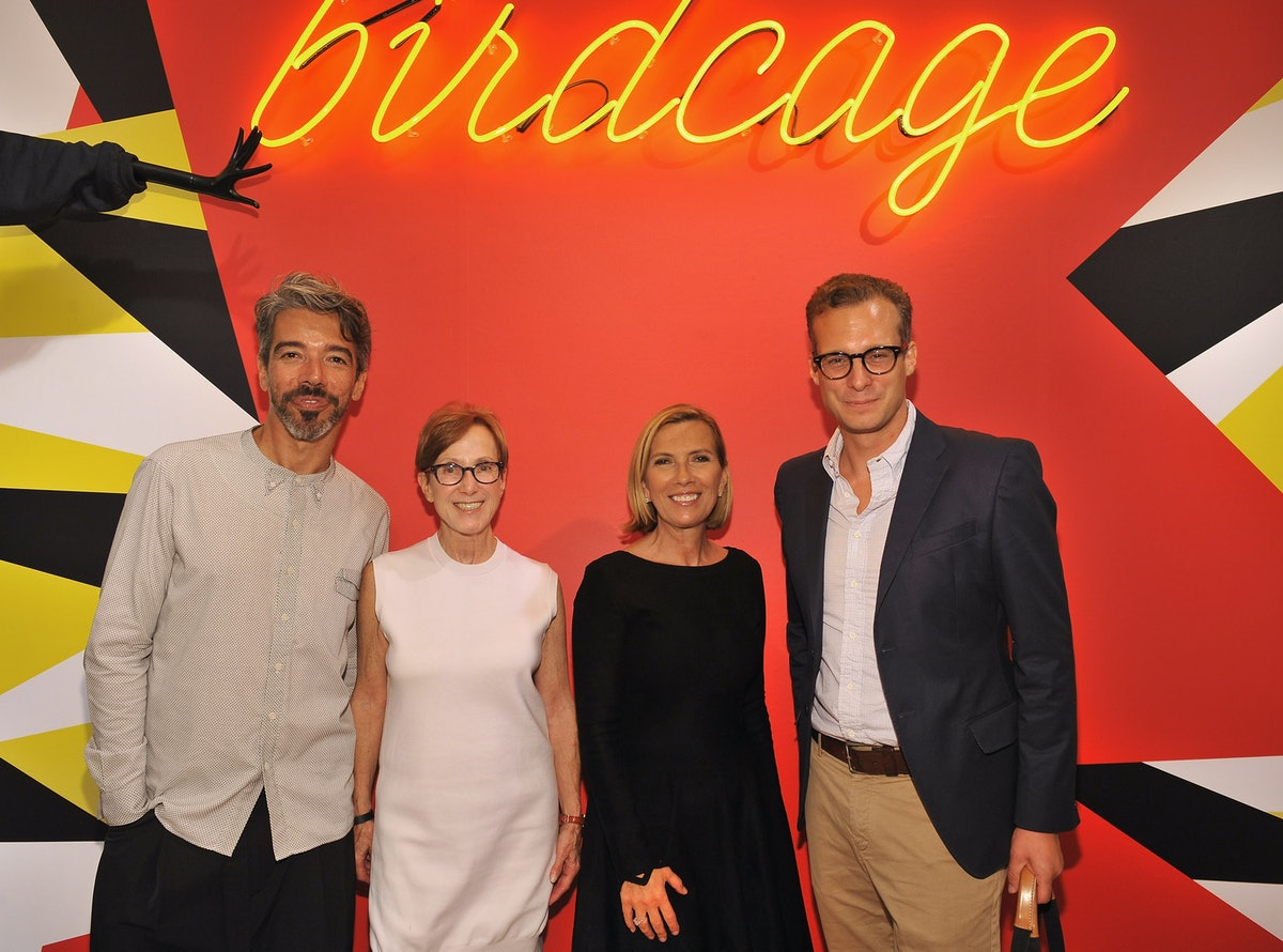Birdcage Shop Unveiling Event With RxArt At Lord & Taylor