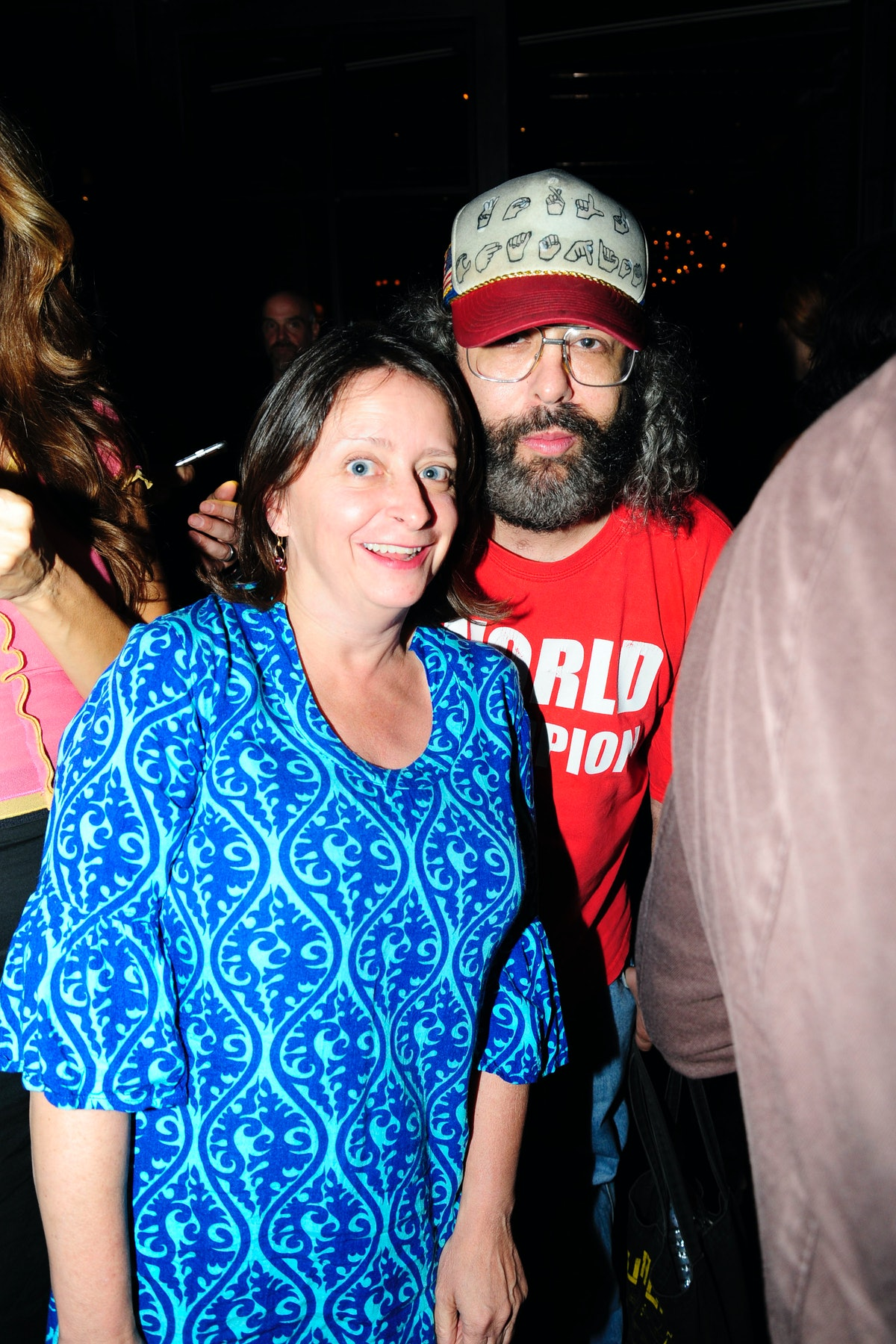 Rachel Dratch and Judah Friedlander