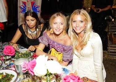 Kim Winter, Millie Allsopp, and Roya Sachs