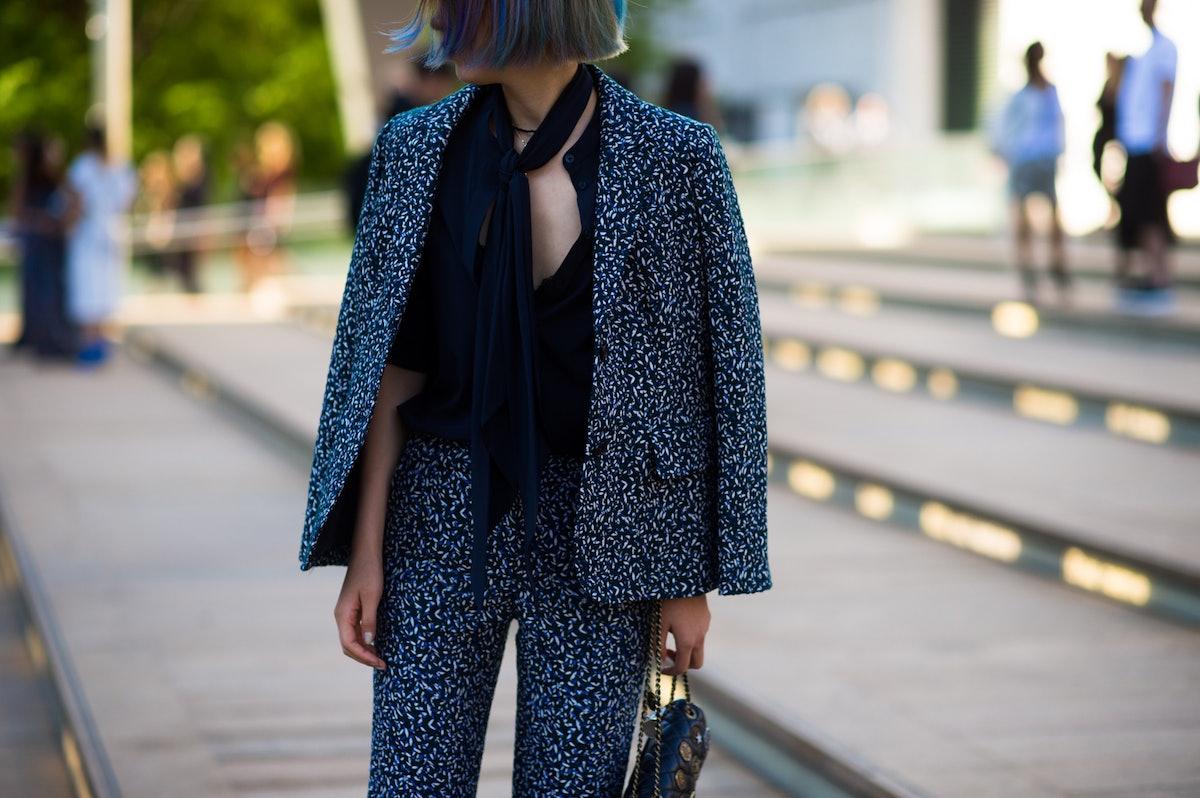 New York Fashion Week Street Style, Day 6