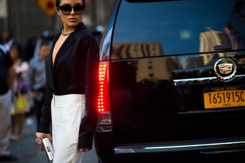 New York Fashion Week Street Style, Day 7
