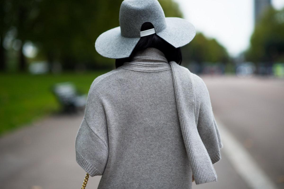 London Fashion Week Spring 2016 street style