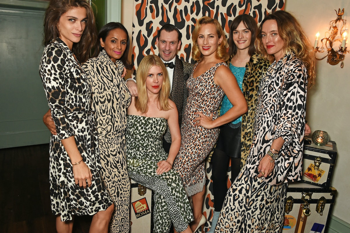 Charlotte Olympia SS16 Dinner During LFW