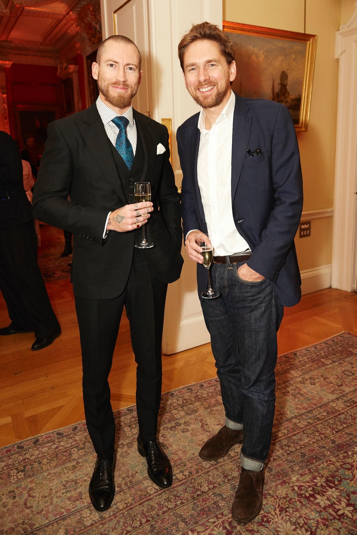 Justin O'Shea and Rupert Sanderson