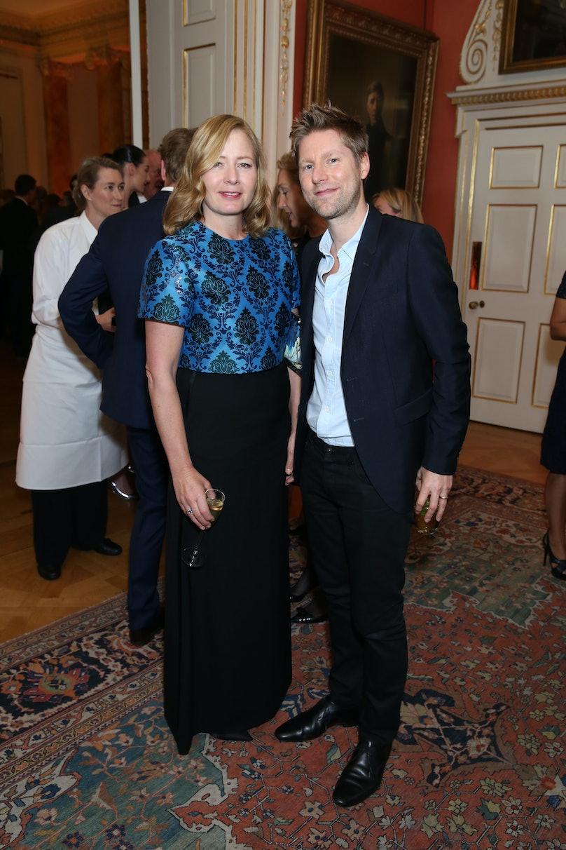 Sarah Mower and Christopher Bailey