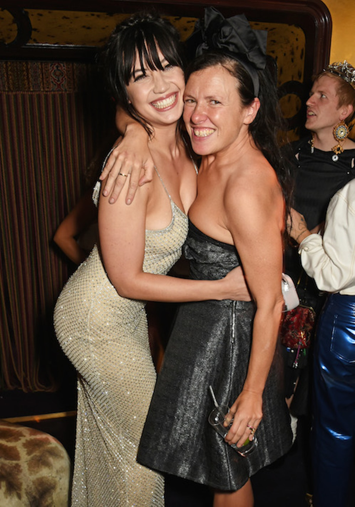 Daisy Lowe and Katie Grand