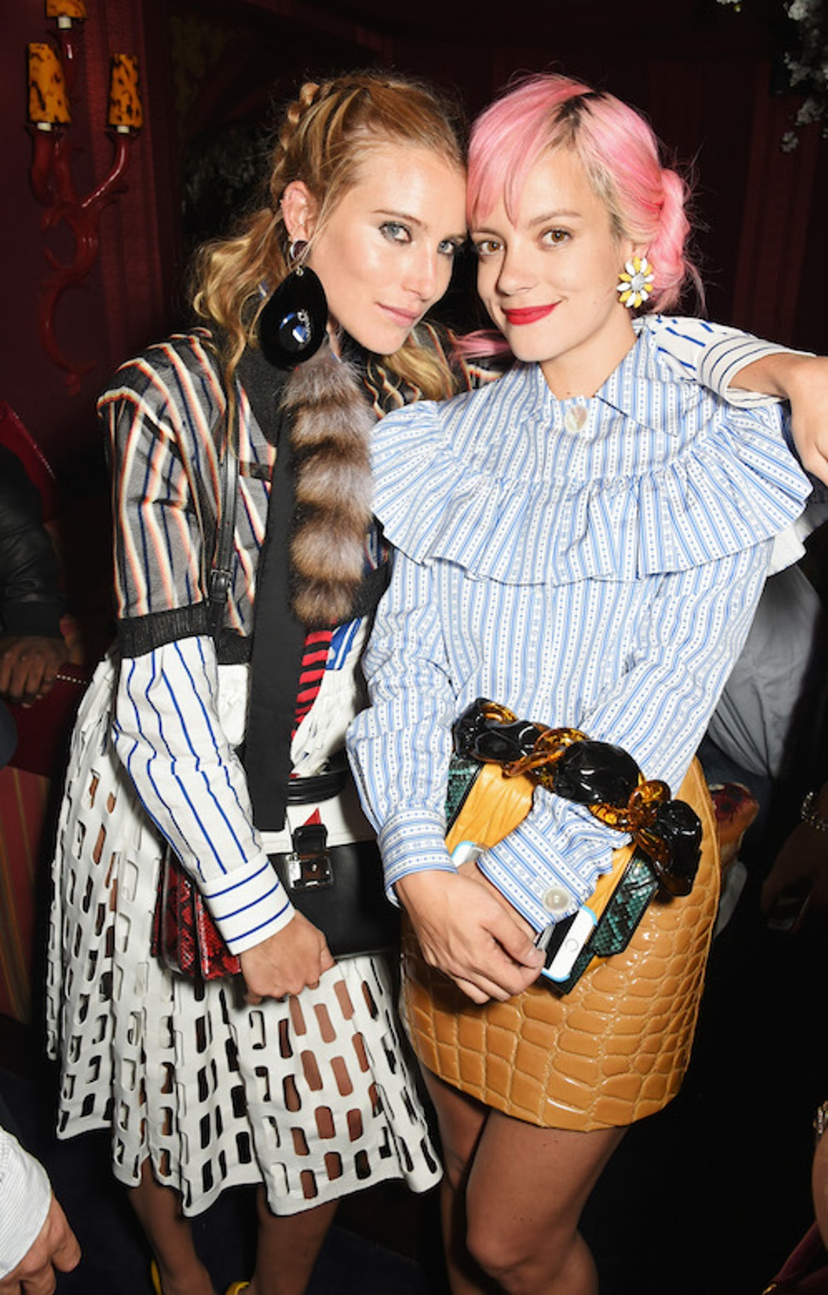 Dree Hemingway and Lily Allen