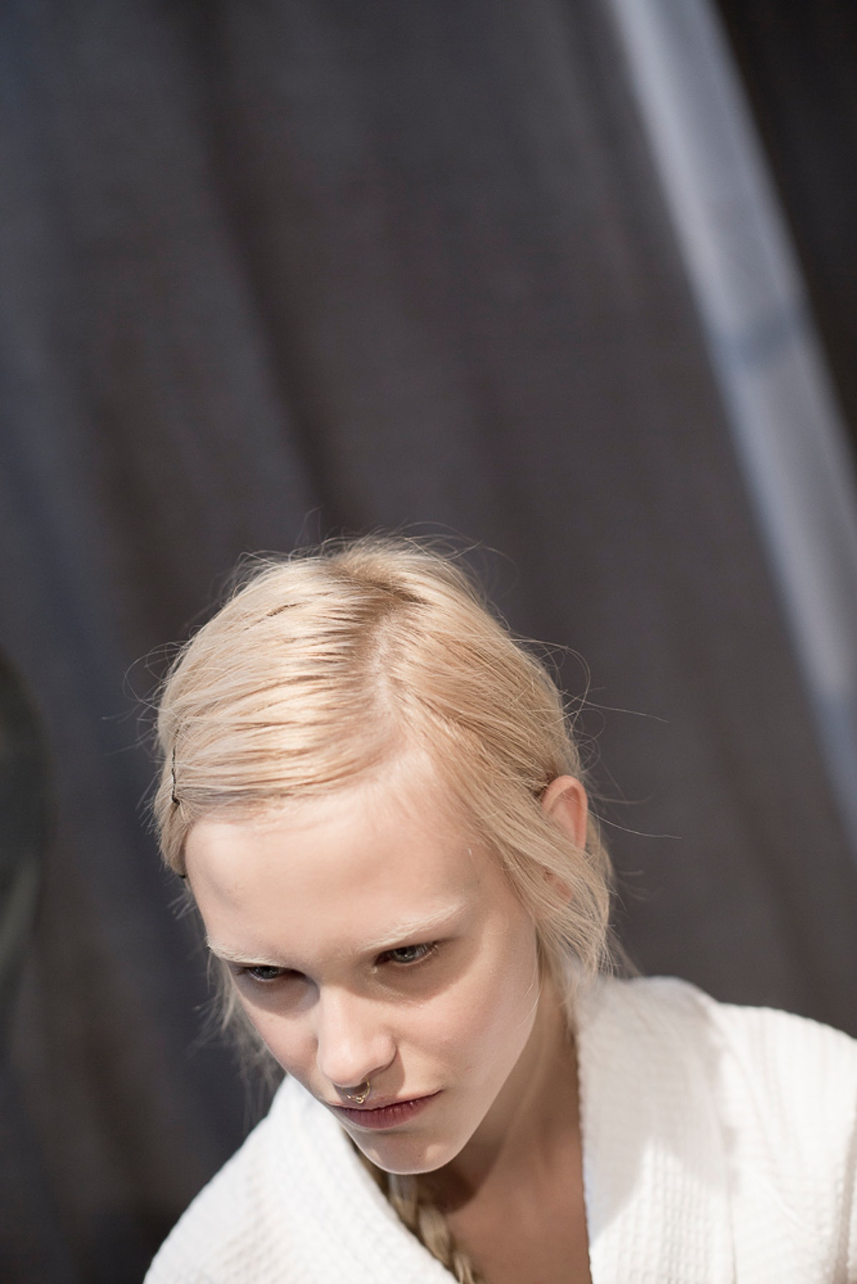 Backstage at Gucci Spring 2016