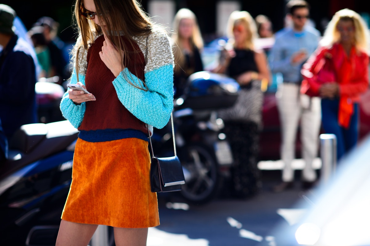 Milan Fashion Week Spring 2016 Street Style