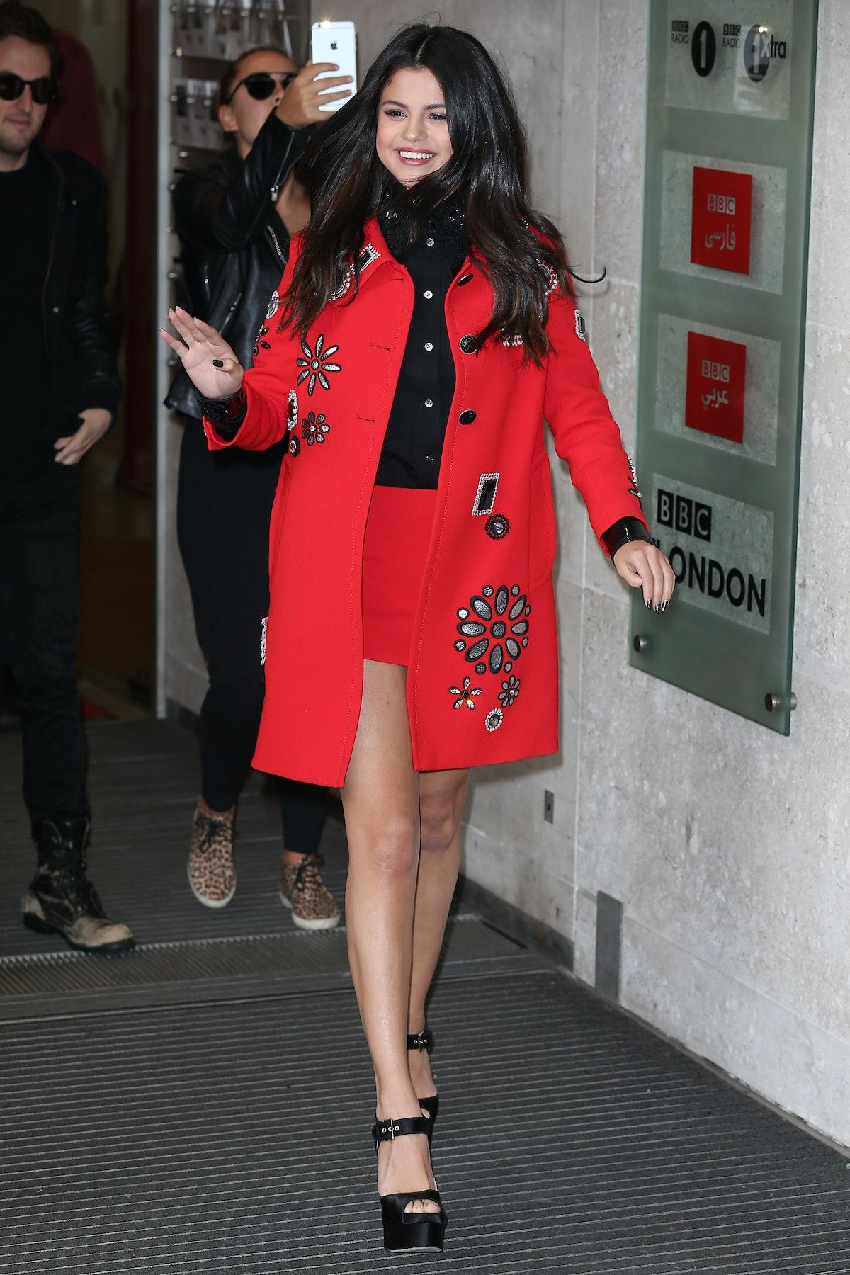 Selena Gomez in Marc Jacobs