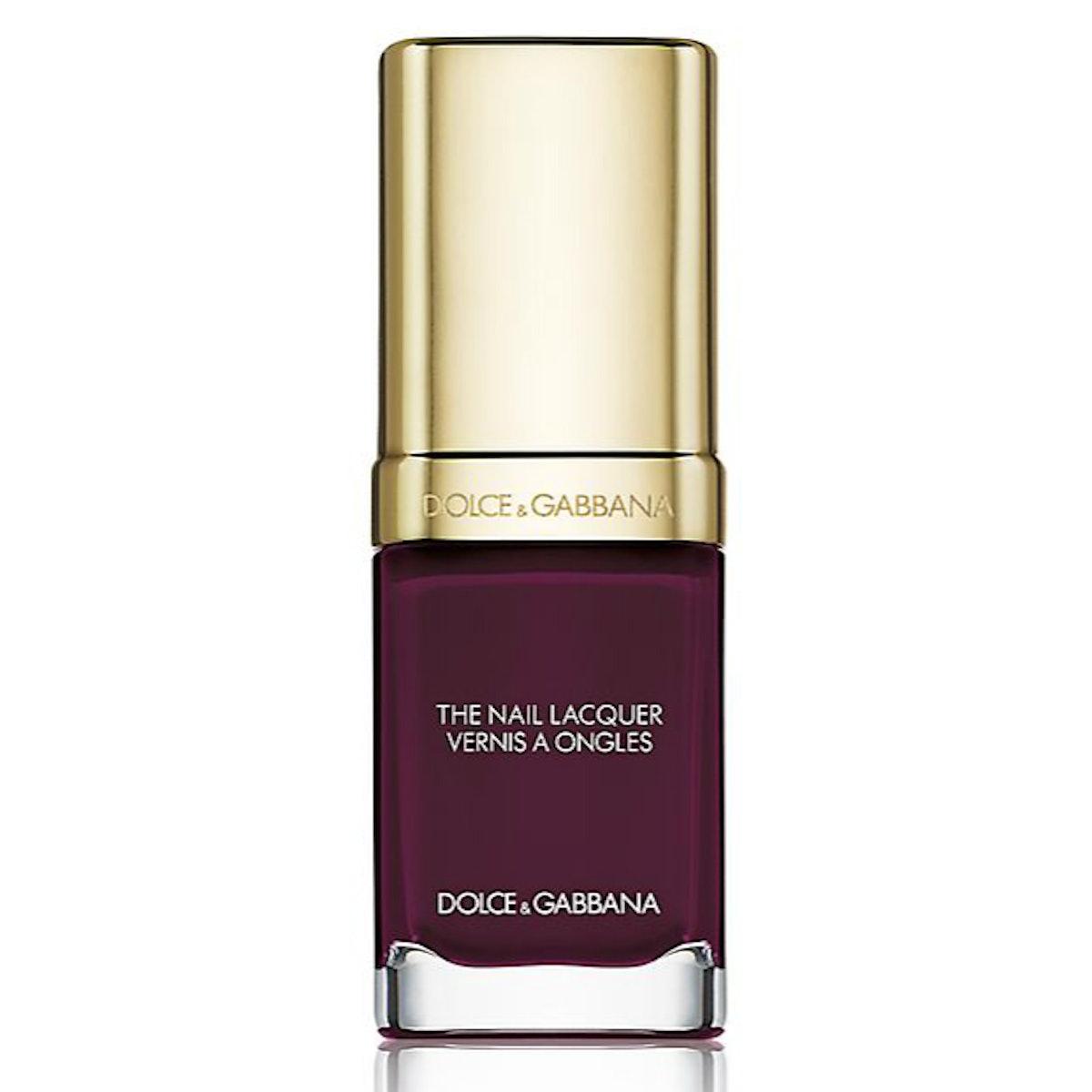 Dolce & Gabbana nail polish in Amethyst