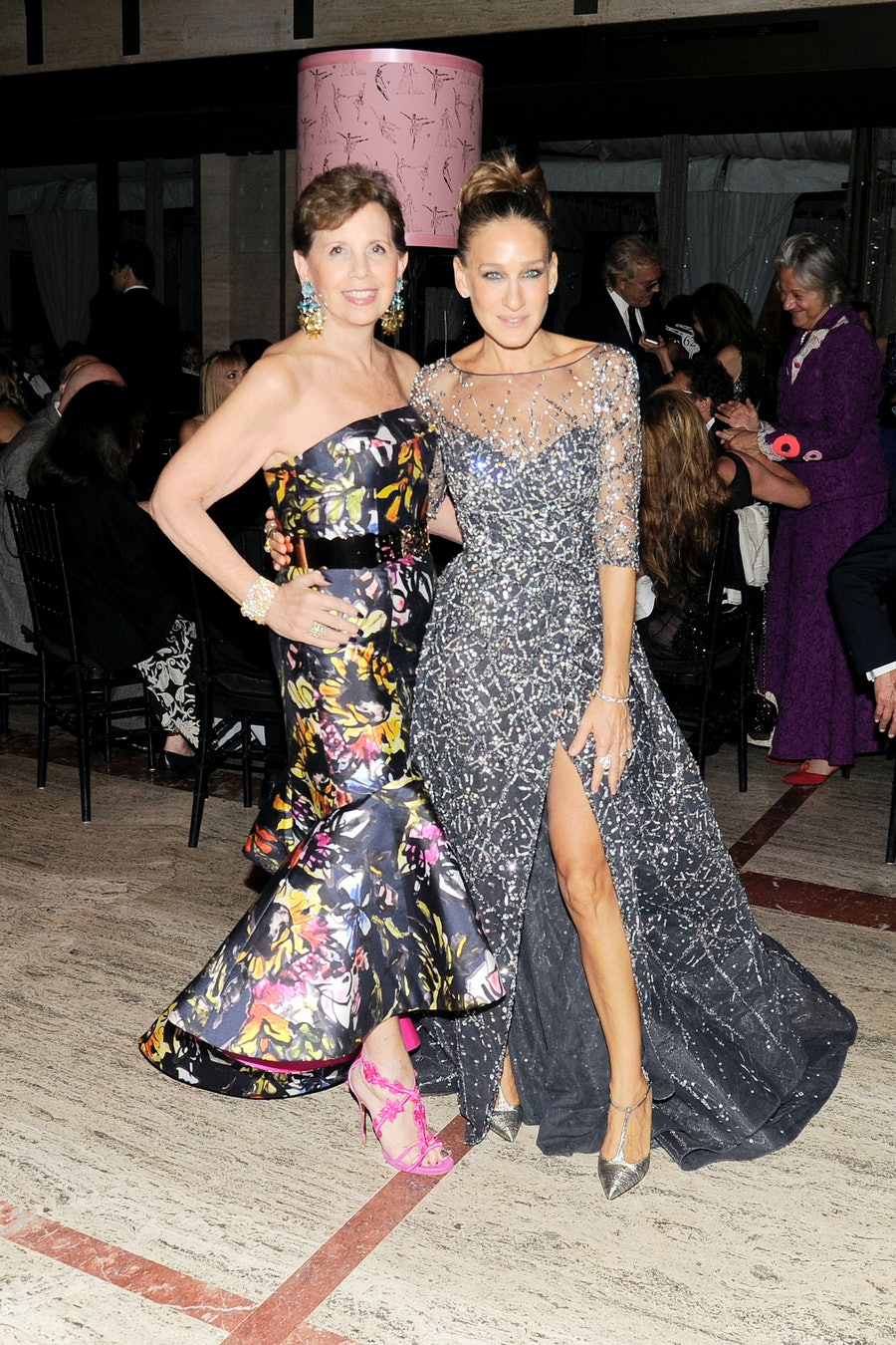 Adrienne Arsht and Sarah Jessica Parker
