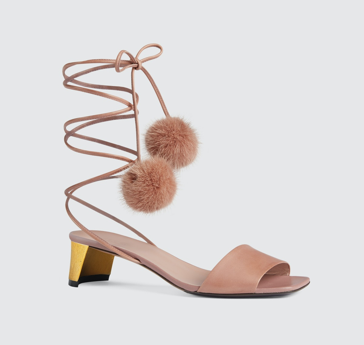 Gucci Heloise leather sandal