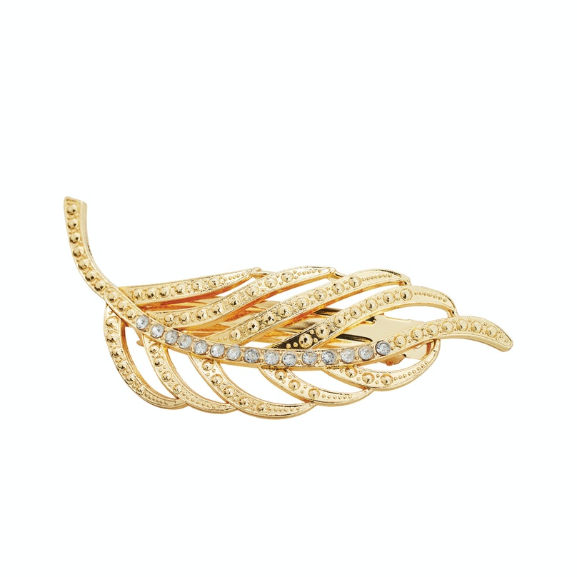 Goody autoclasp in Gold