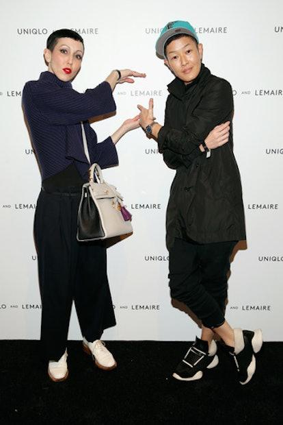 Michelle Harper and Jenny Shimizu
