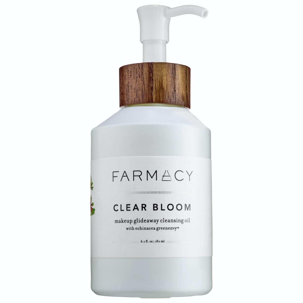 Farmacy Clear Bloom Makeup Glideaway Cleansing Oil,