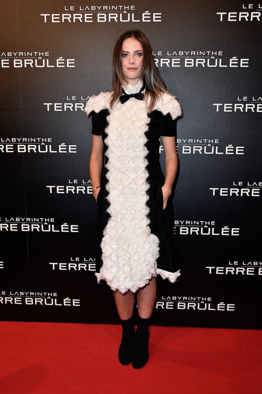 Kaya Scodelario in Chanel