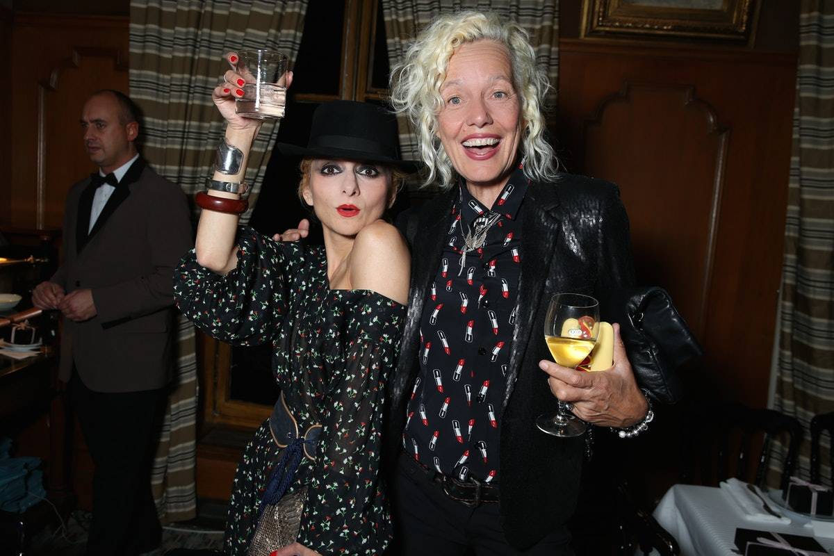 Catherine Baba and Ellen Von Unwerth