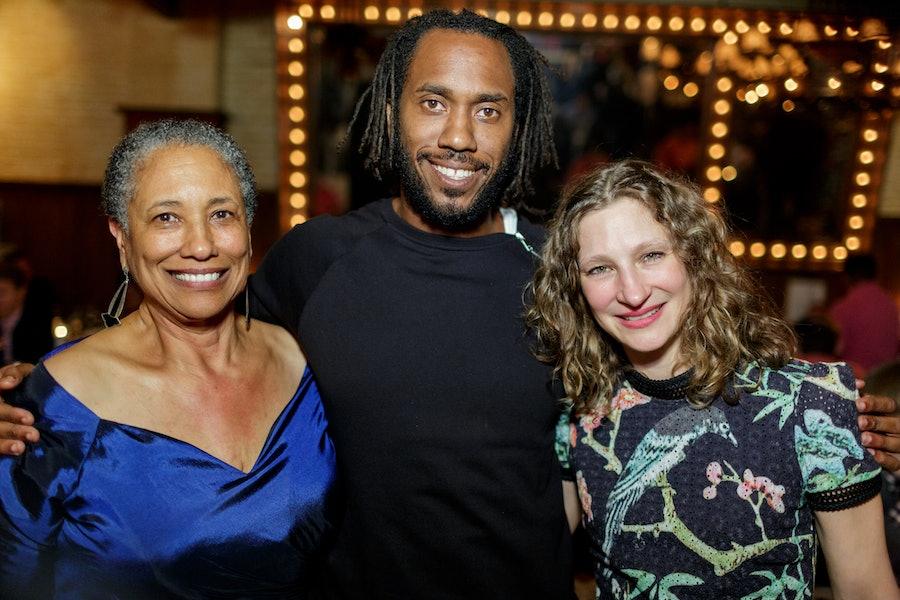 Cheryl Johnson Odim, Claire Gilman, Rashid Johnson