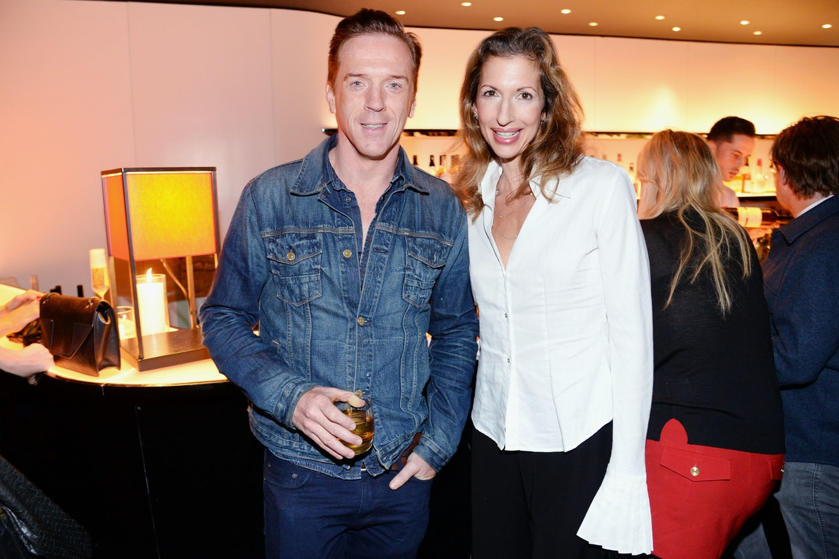 Damian Lewis and Alysia Reiner