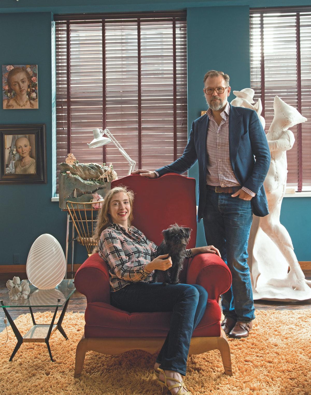 Artists John Currin and Rachel Feinstein