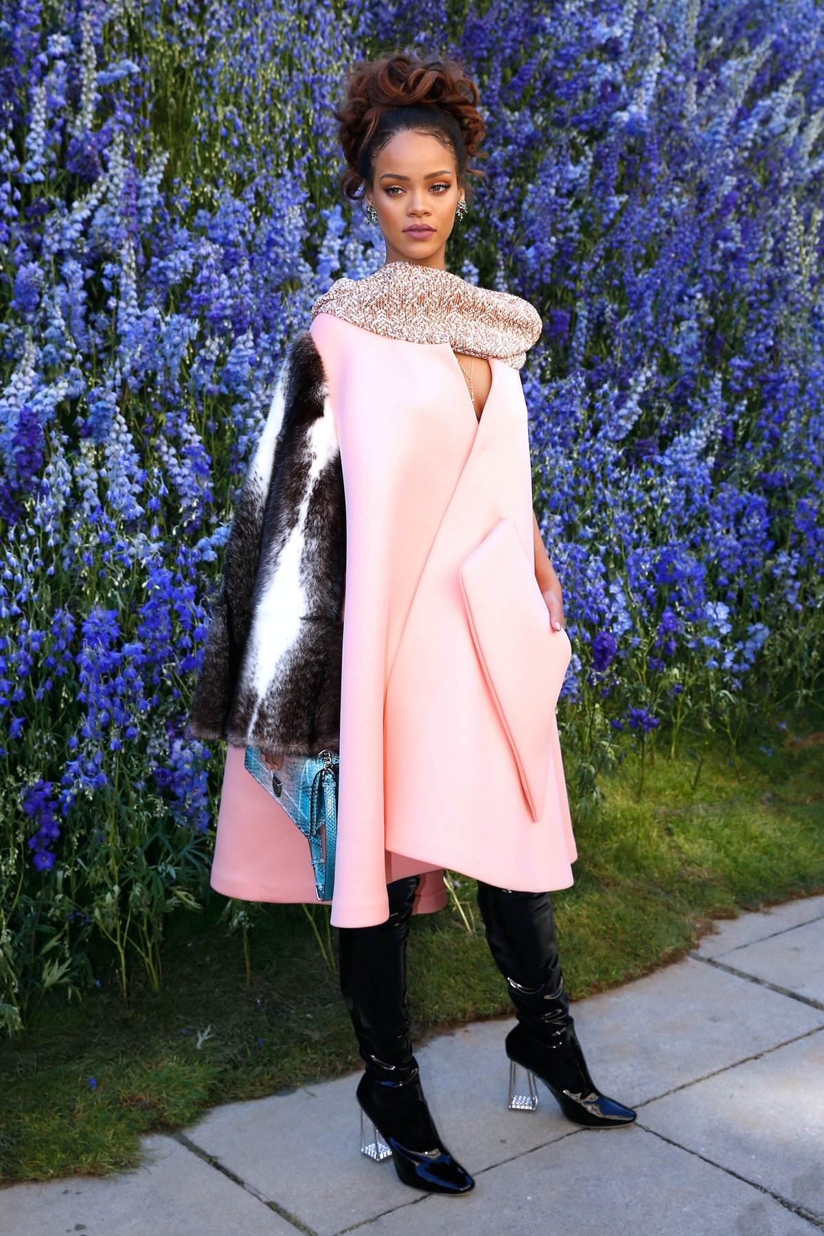 Rihanna in Dior