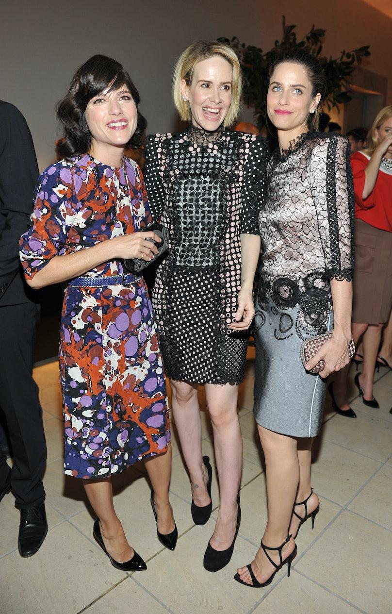 Selma Blair, Sarah Paulson and Amanda Peet