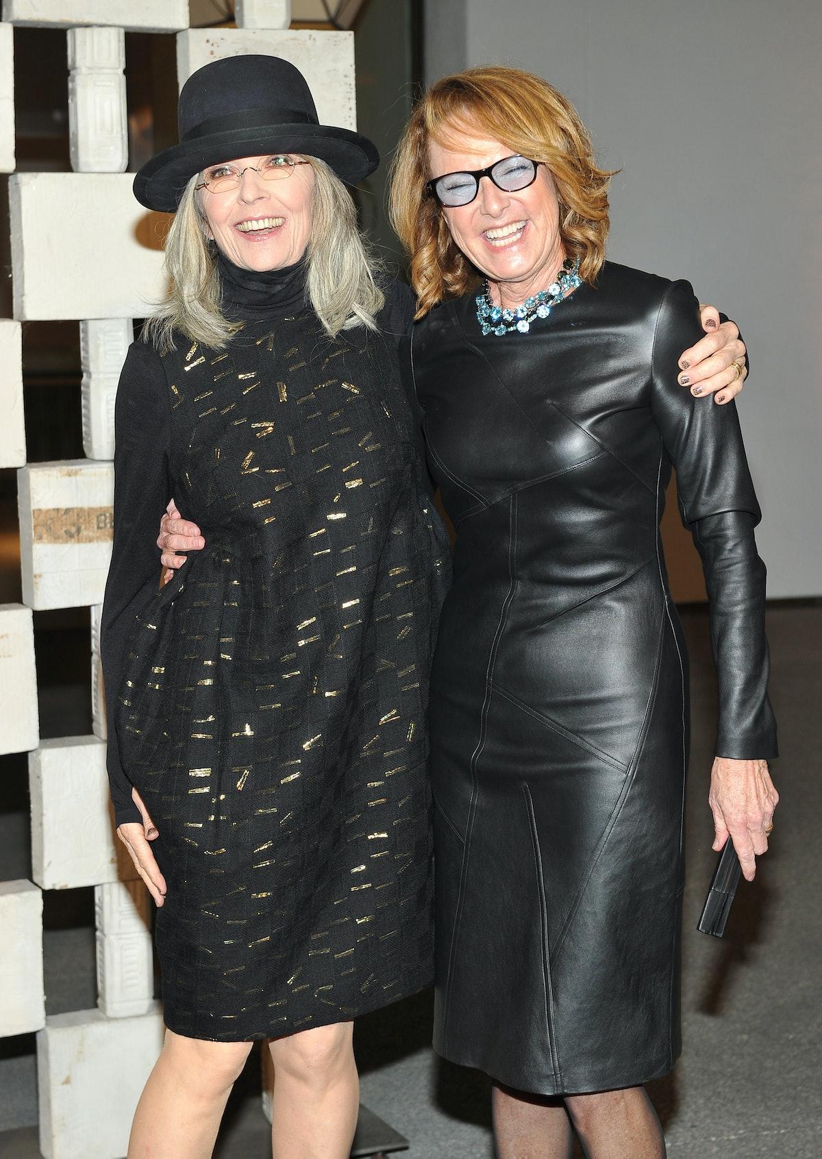 Diane Keaton and Annie Philbin