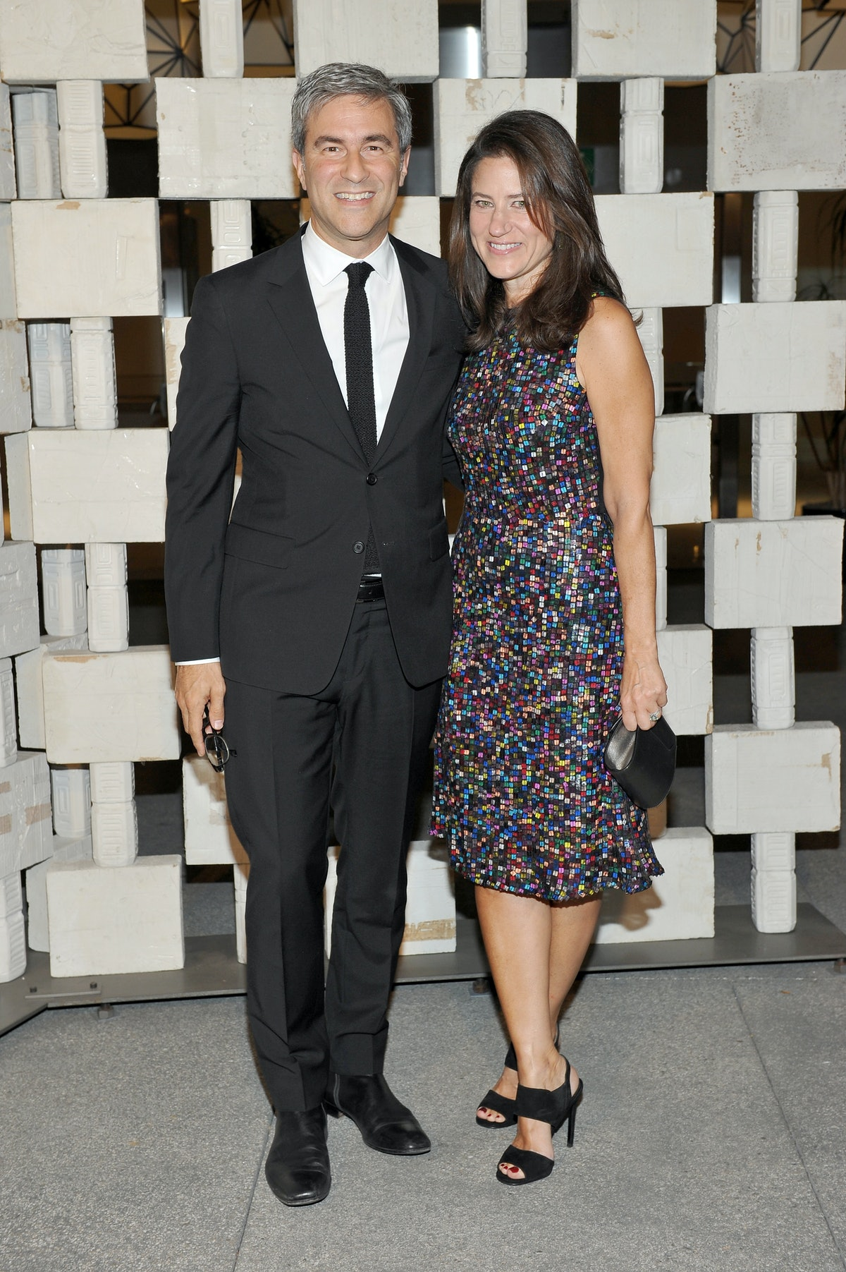 Michael Govan and Katherine Ross