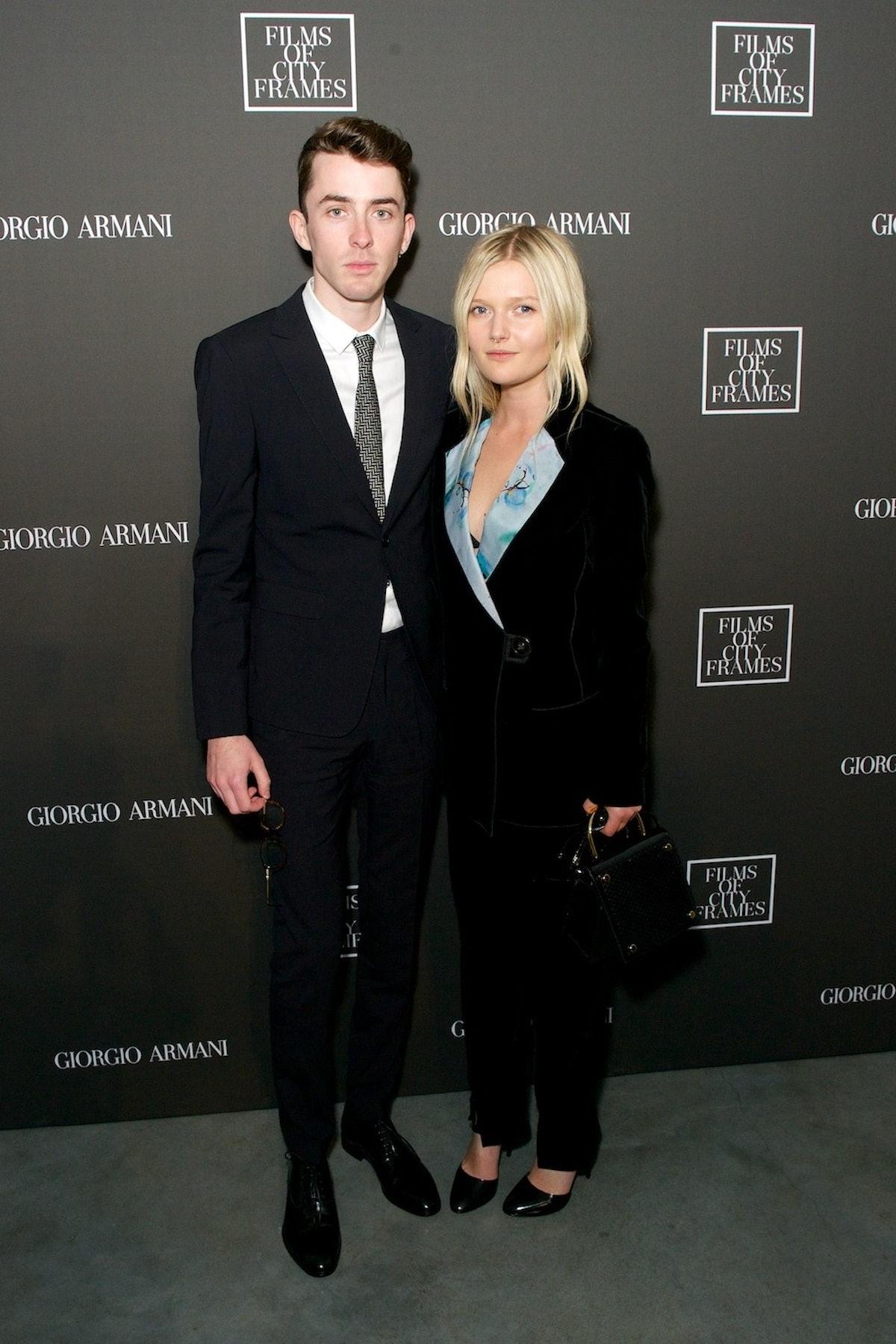 Matthew Beard and Sophie Kennedy Clarke