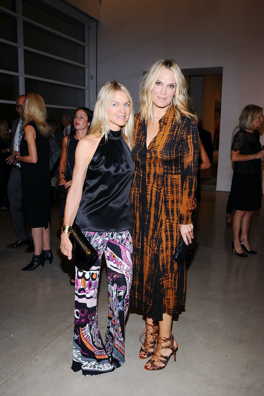 Crystal Lourd and Molly Sims