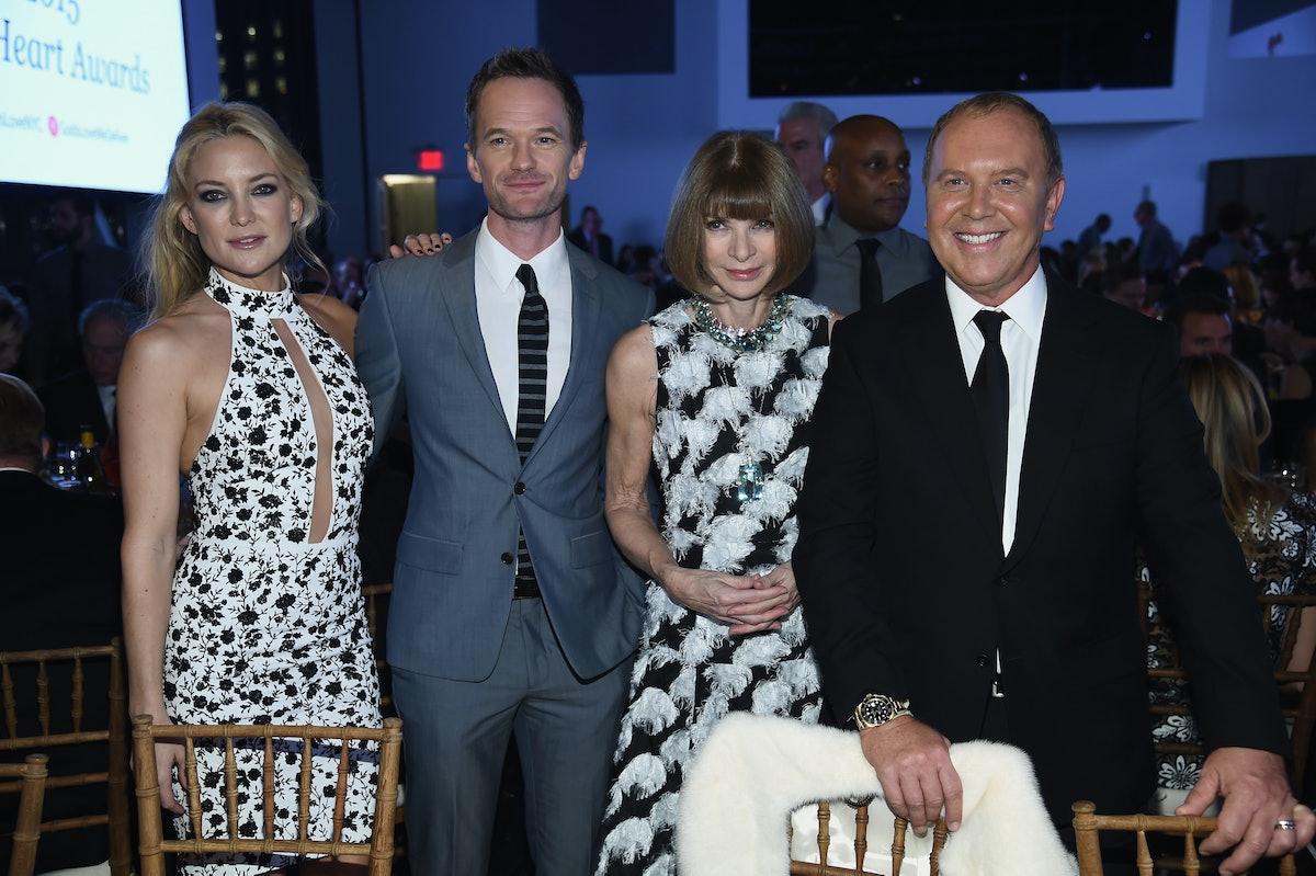 Kate Hudson, Neil Patrick Harris, Anna Wintour, and Michael Kors