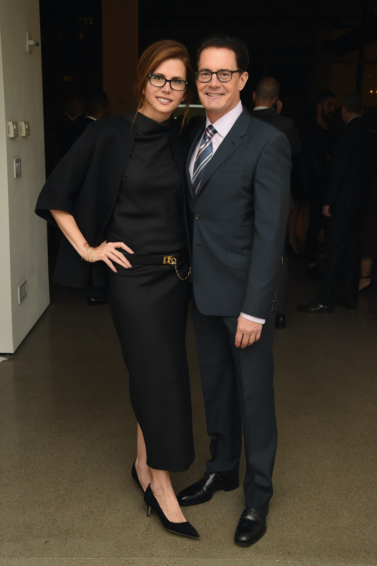 Desiree Gruber and Kyle MacLachlan