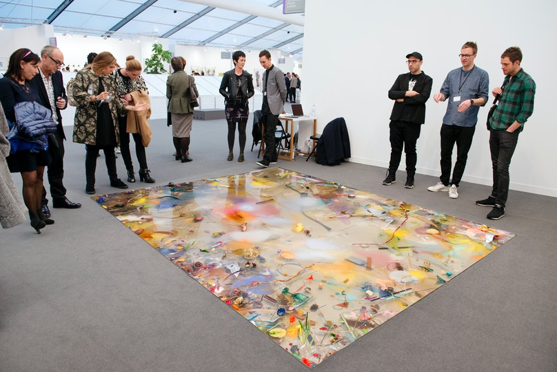 Sunday Painter at Frieze