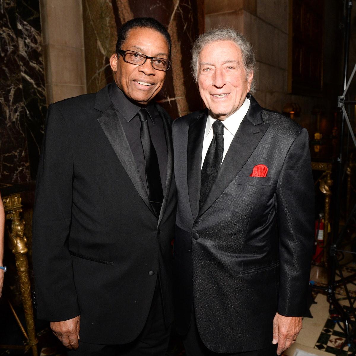 Herbie Hanock and Tony Bennett
