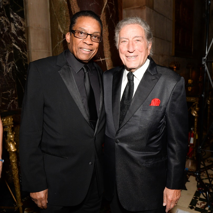 Herbie Hanock and Tony Bennett