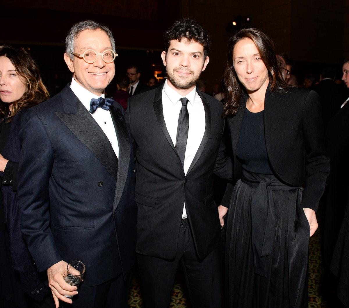 Jeffrey Deitch, Wyatt Kahn, and Amalia Dayan