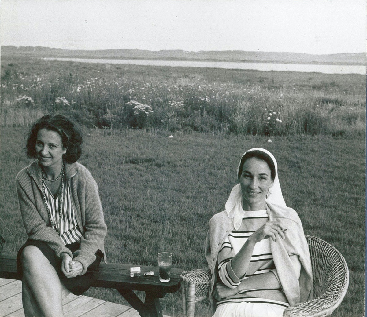 Jan Freilicher and Jane Wilson