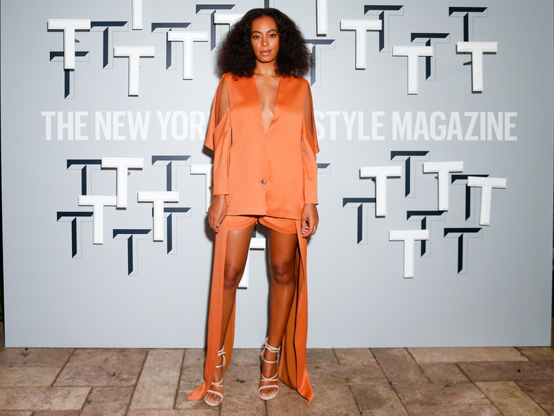 Solange Knowles in Chalayan