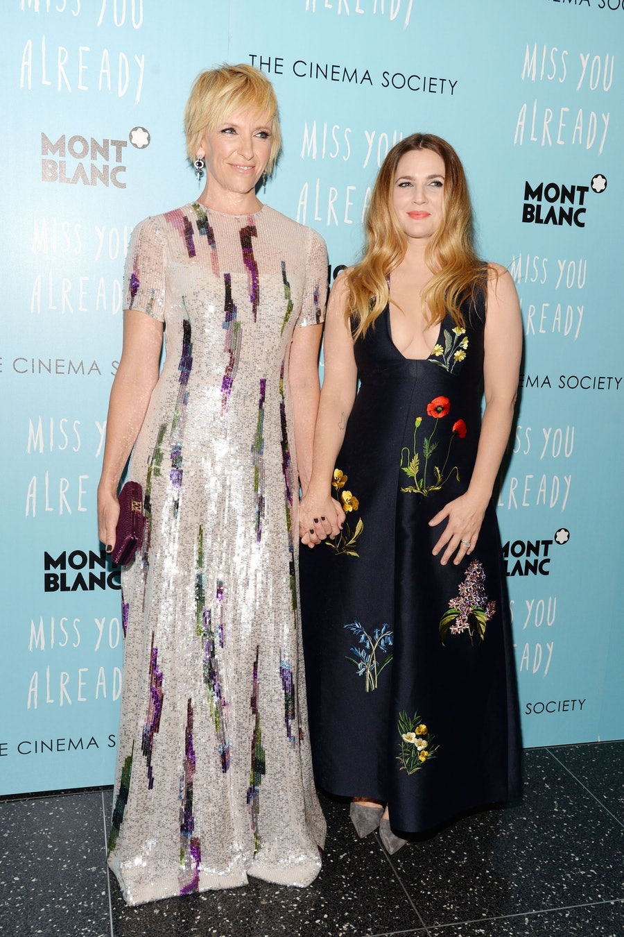 Toni Collette and Drew Barrymore