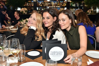 Patricia Clarkson, Katie Holmes and Olivia Wilde