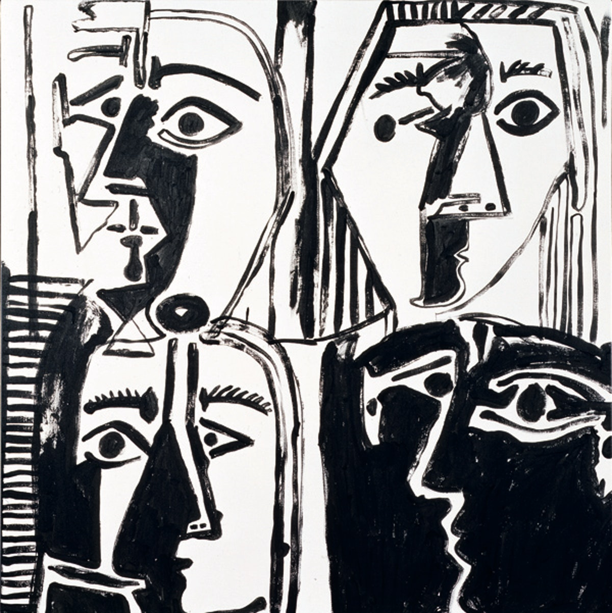 Andy Warhol (Head after Picasso) No XII, YEAR TK