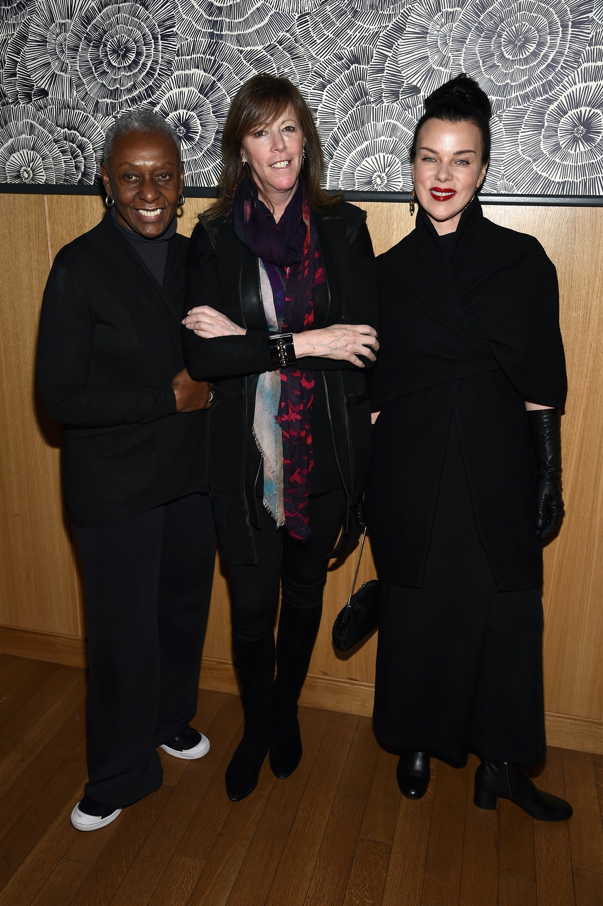 Bethann Hardison, Jane Rosenthal, and Debi Mazar