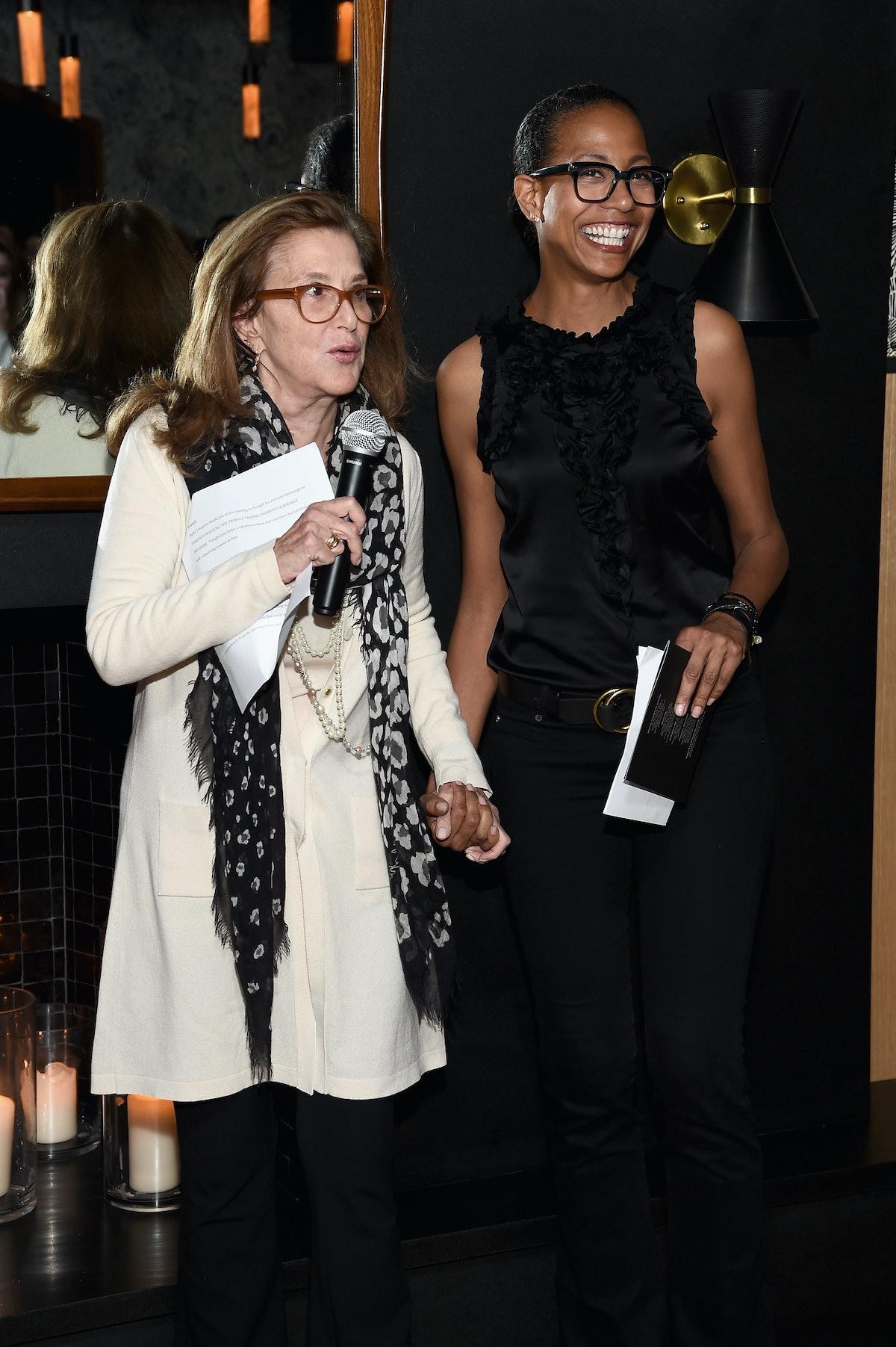 Paula Weinstein and Anna Ponde