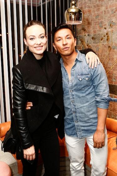 Prabal Gurung and Olivia Wilde