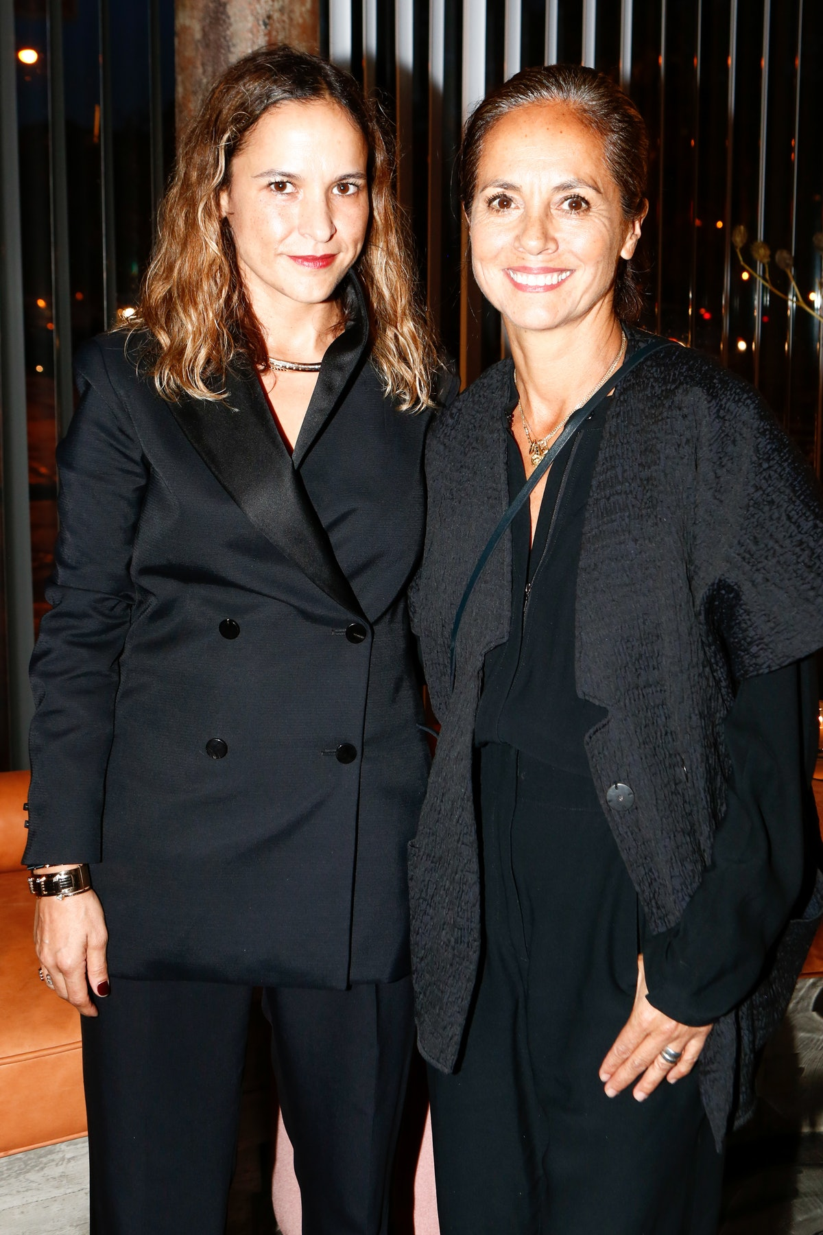 Maria Cornejo and Sara Beltran