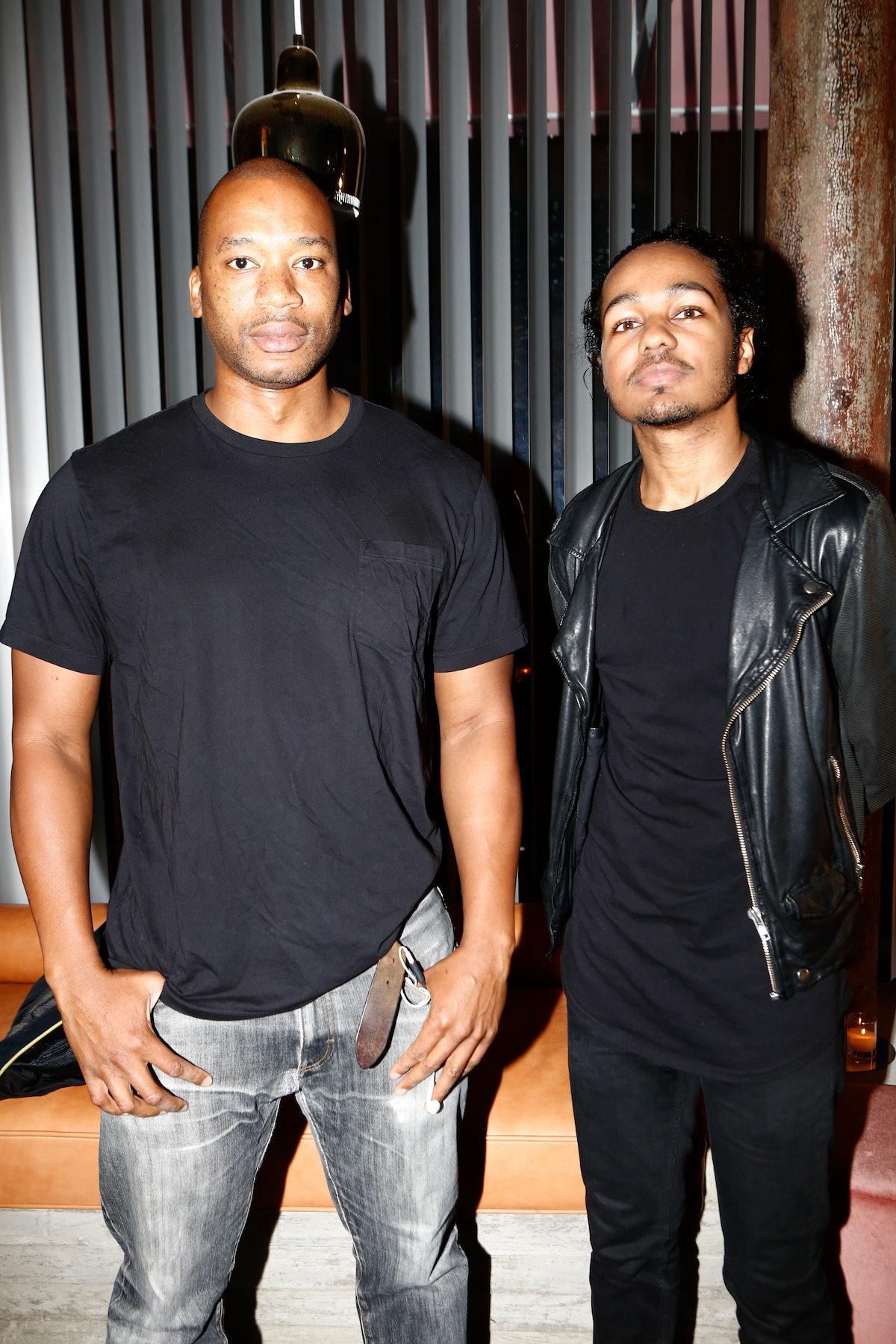 Tyson Toussant and Alex Tapia