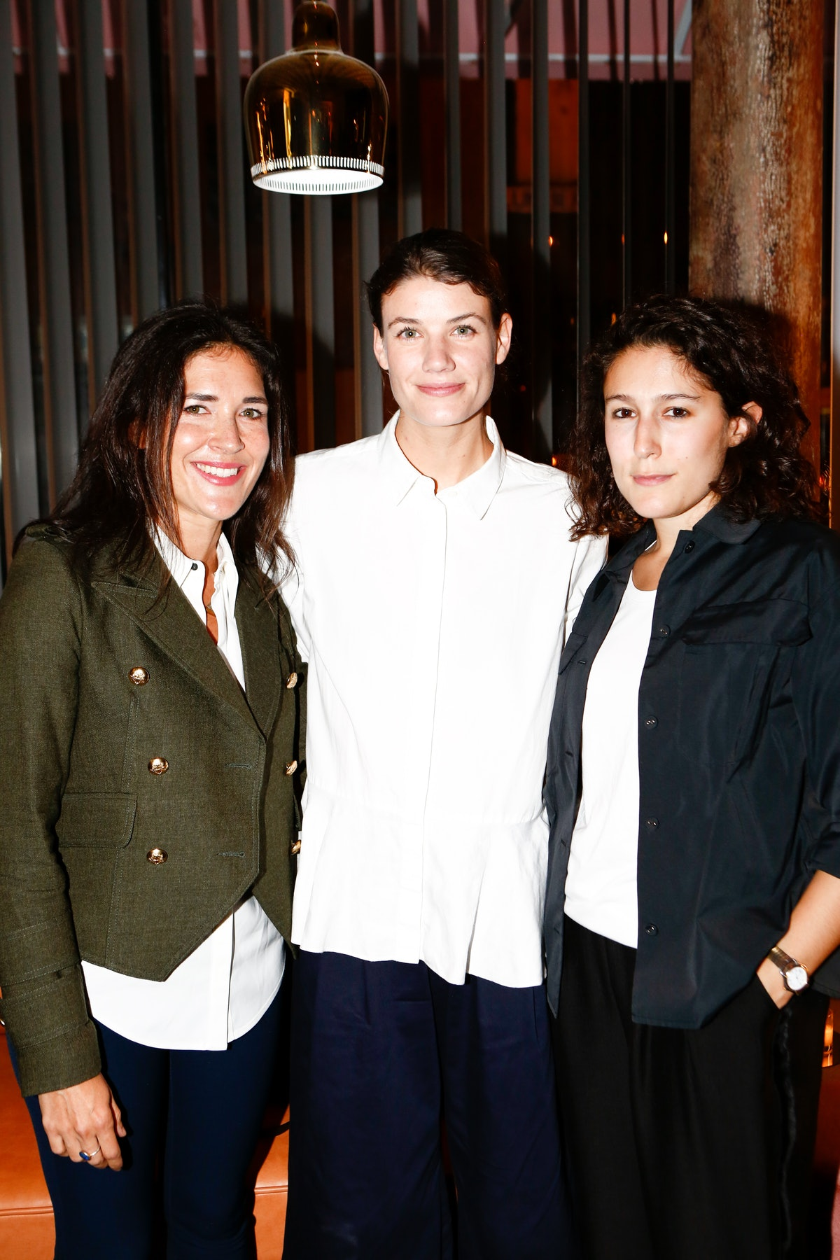 Erin Isakov, Britt Cosgrove, and Marina Polo