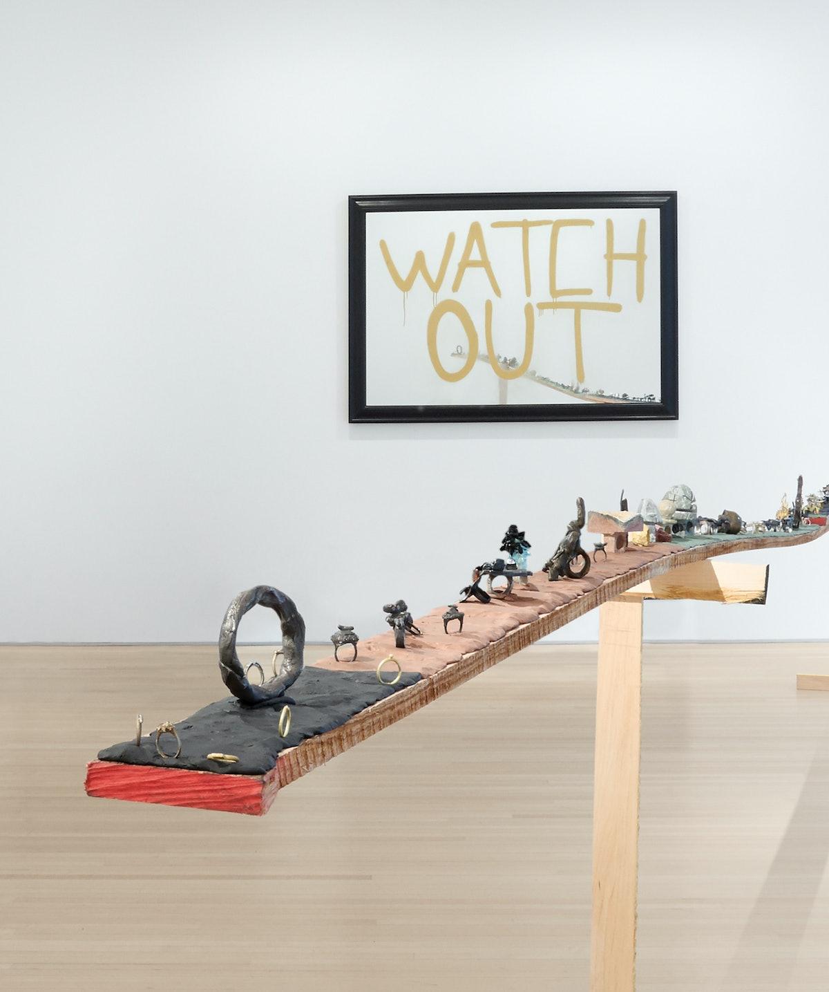 Installation view of Karl Fritsch at Salon 94