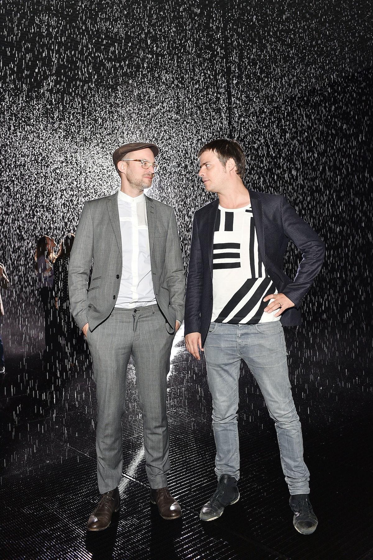 Florian Ortkrass and Hannes Koch